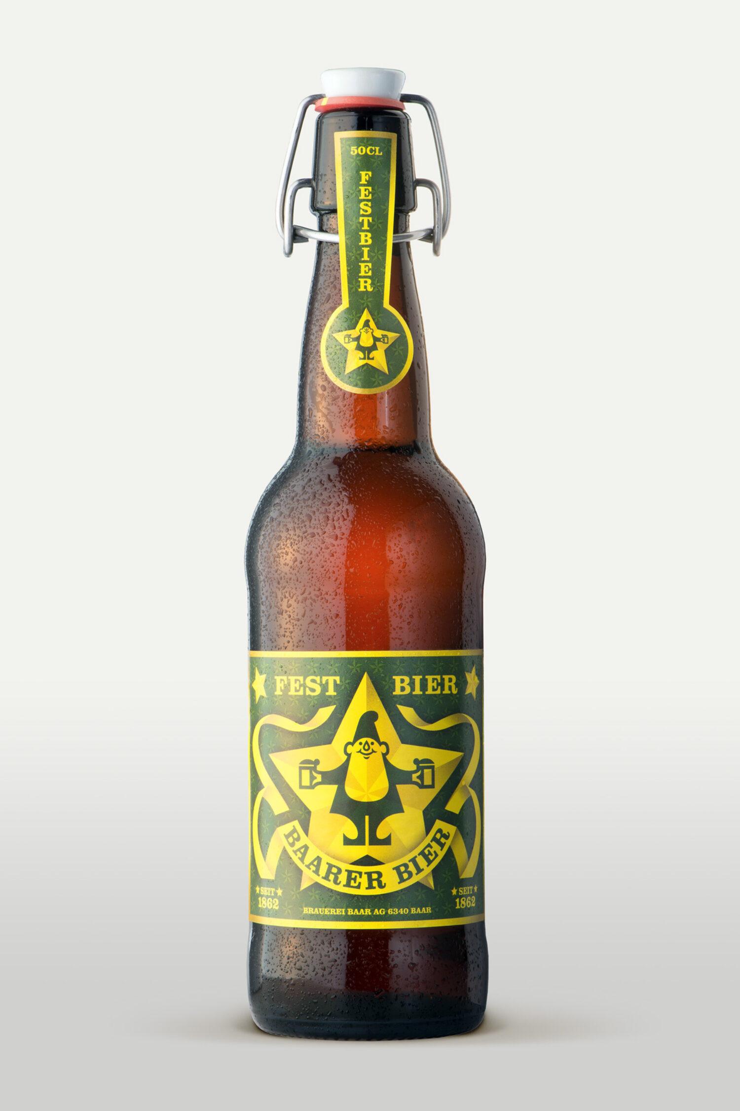 Schweizer GrafikBaarer Bier