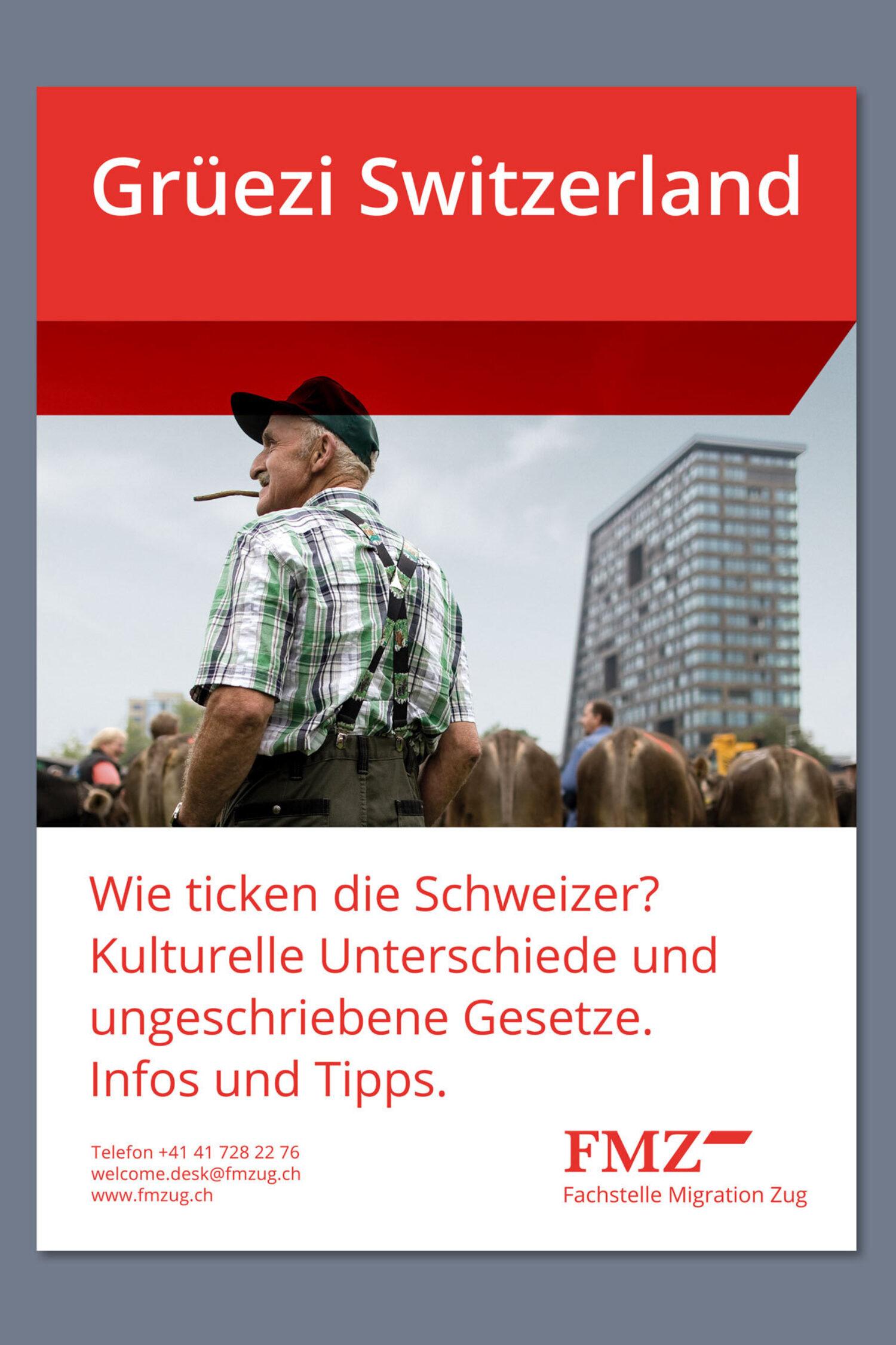 Schweizer GrafikFachstelle Migration Zug