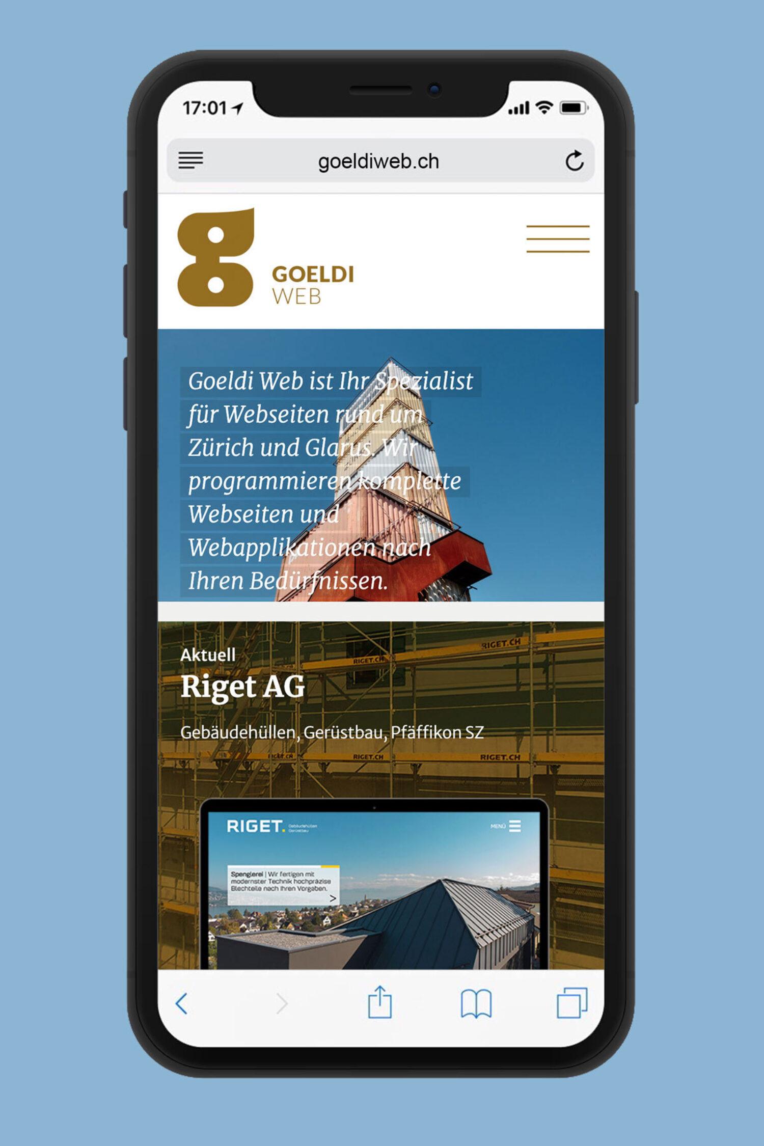 Schweizer GrafikGoeldi Web