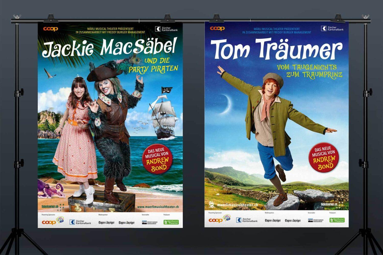 Schweizer GrafikMärli Musical Theater