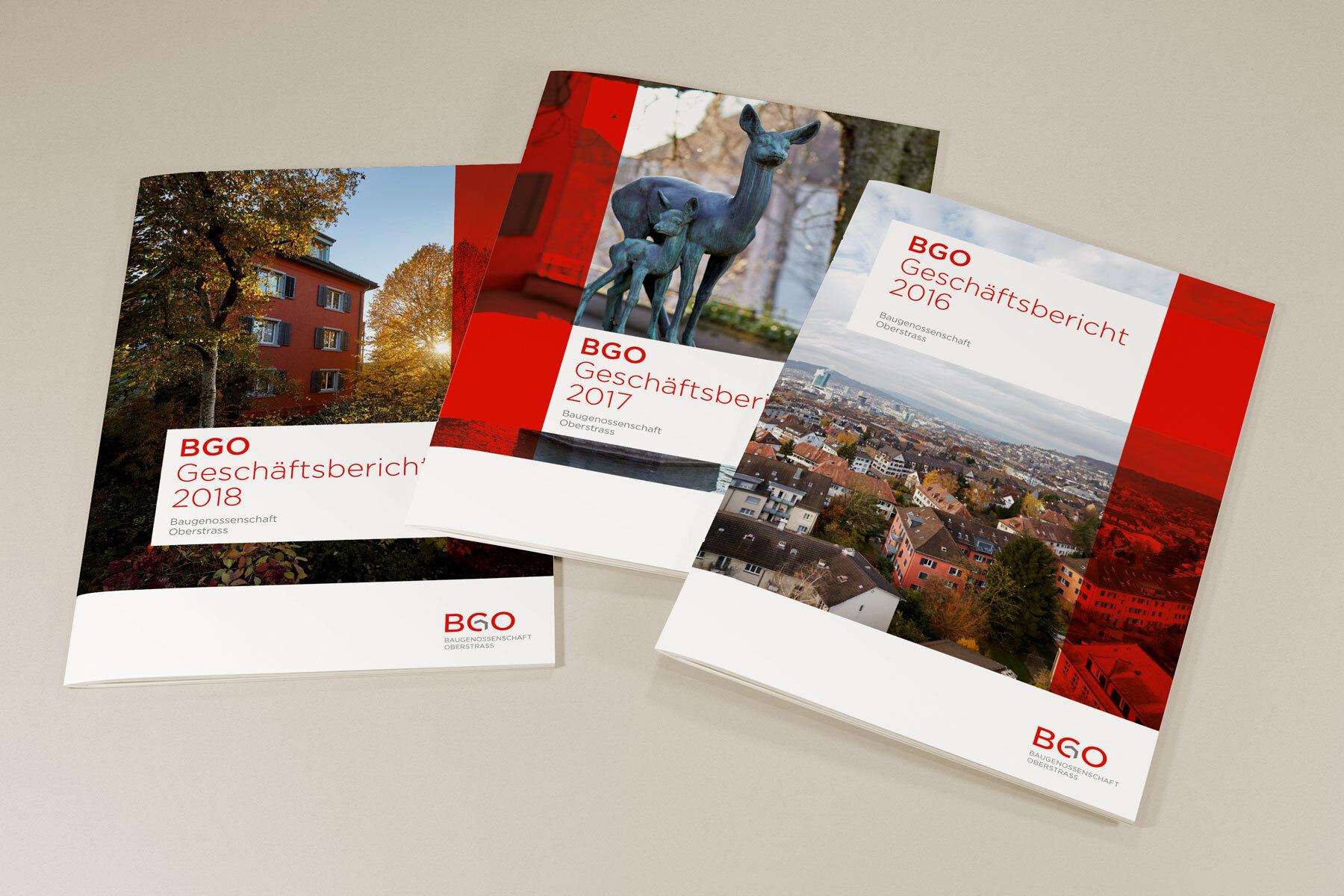 Schweizer Grafik Baugenossenschaft Oberstrass