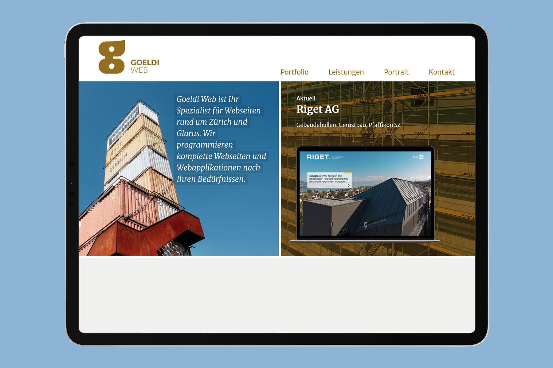 Schweizer Grafik Goeldi Web