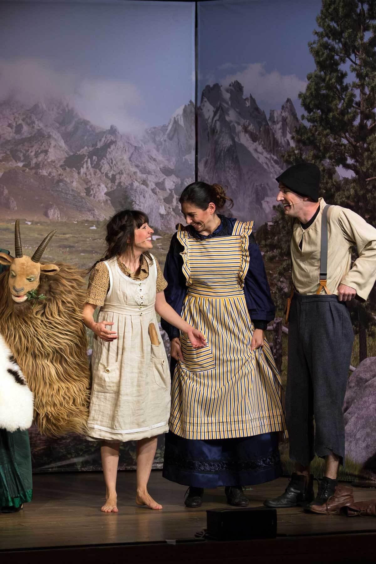 Schweizer Grafik Märli Musical Theater