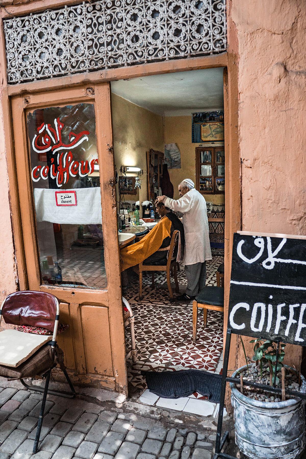 Schweizer Grafik Marokko
