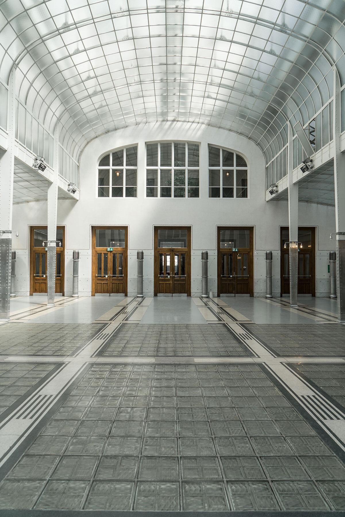 Schweizer Grafik Postsparkasse Wien