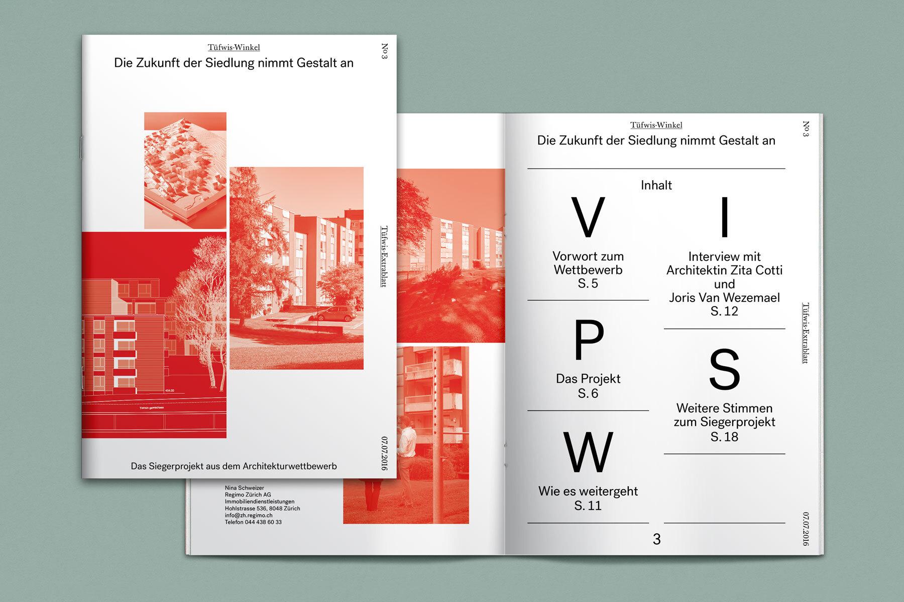 Schweizer Grafik Tüfwis-Winkel